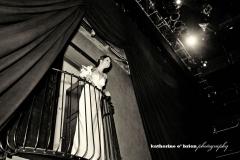Theatre - bride on balcony