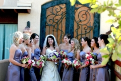 Theatre doors - bridal party