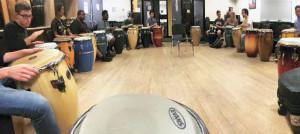 berklee drum circle