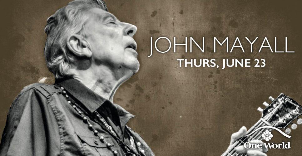John Mayall One World Theatre