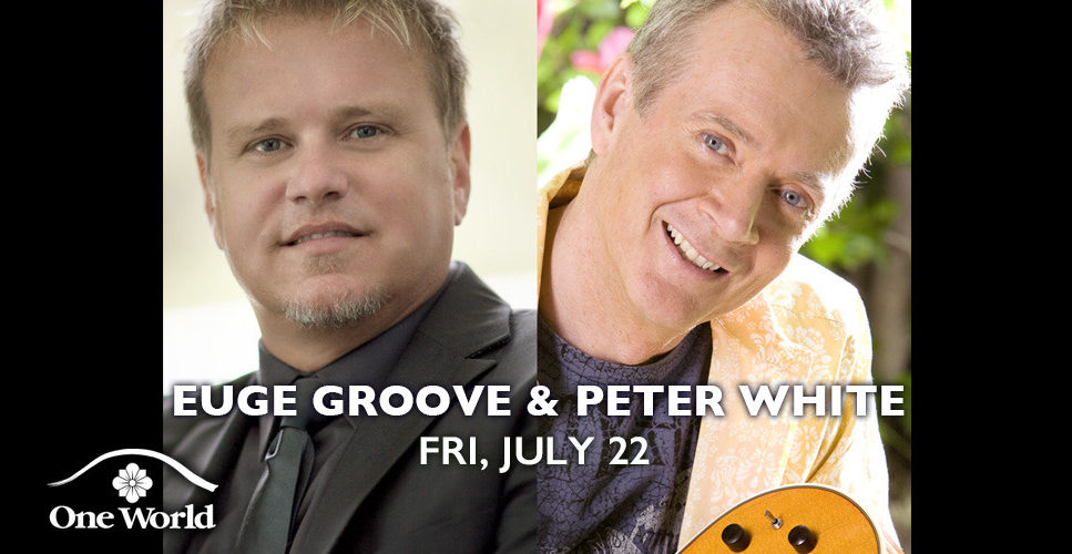 Euge Groove and Peter White One World Theatre