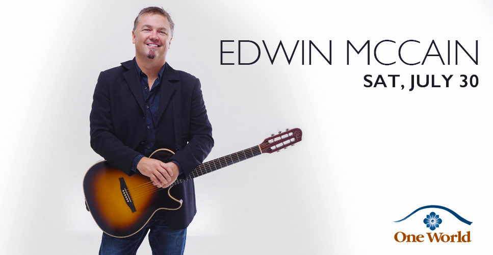 Edwin McCain One World Theatre