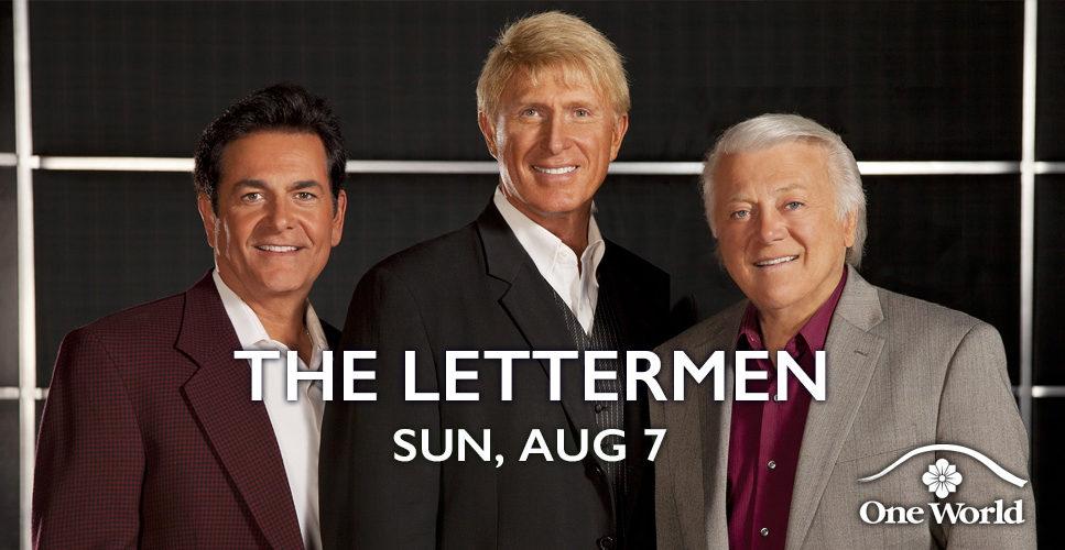 The Lettermen One World Theatre