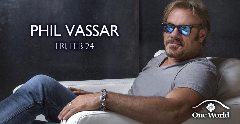Phil Vassar One World Theatre