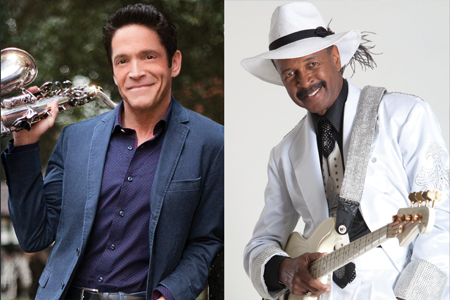 Dave Koz and Larry Graham