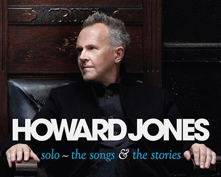 Howard Jones songs and stories