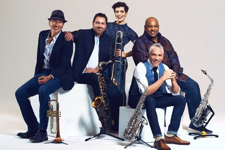 dave koz and friends summer horns tour 2018 featuring gerald albright rick braun and richard elliot introducing aubrey logan and adam hawley - Dave Koz Christmas Tour