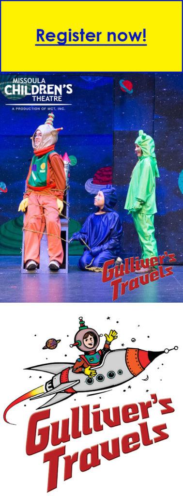 Gullivers travels One World Theatre