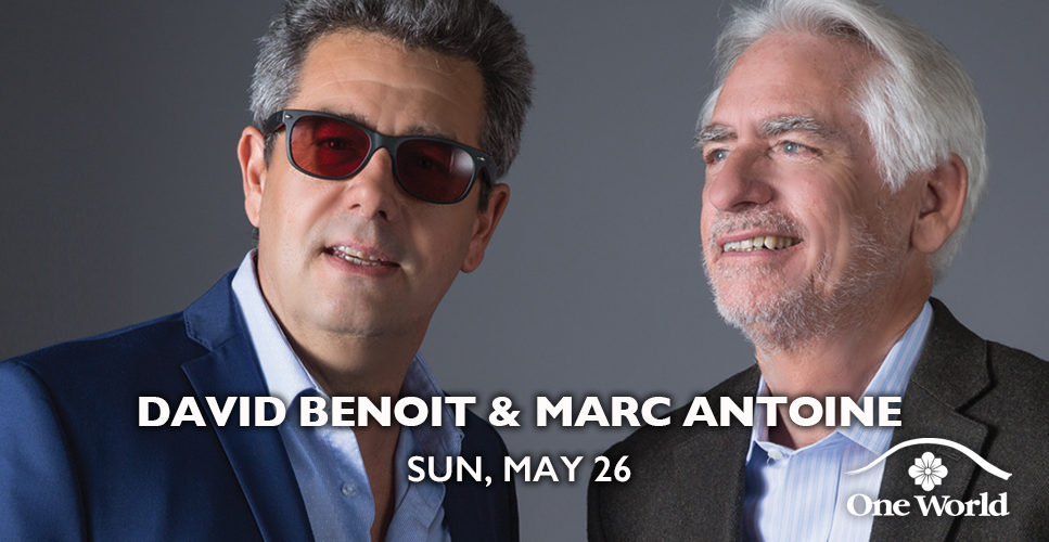 David Benoit and Marc Antoine