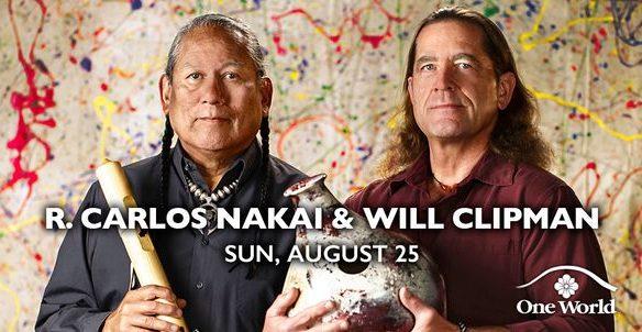 R. Carlos Nakai and Will Clipman