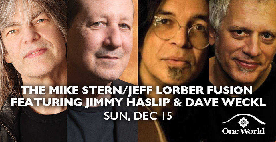 The Mike Stern/Jeff Lorber Fusion ft. Jimmy Haslip and Dave Weckl